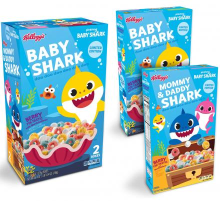 There's Now a Baby Shark Kids Cereal That Exists