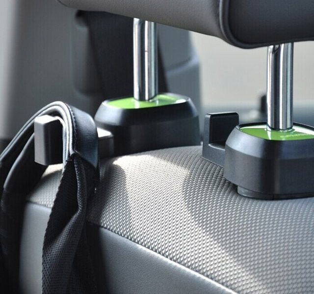 These Back Seat Car Hooks Attach To The Front Seats Head Rest And Are Pretty Much Compatible With Any That Has A Is Movable