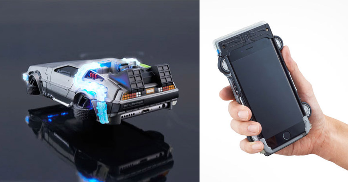 You Can Now Get a Back To The Future DeLorean Car iPhone Case