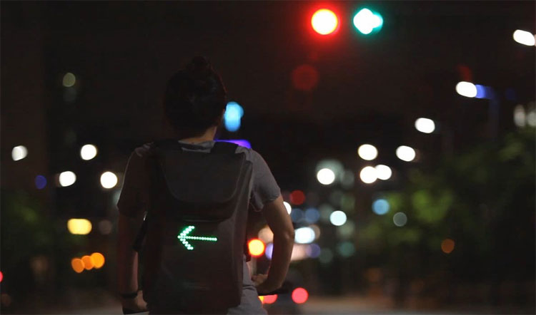 SEIL Bag - Backpack Bike With Turn Signals and Messages