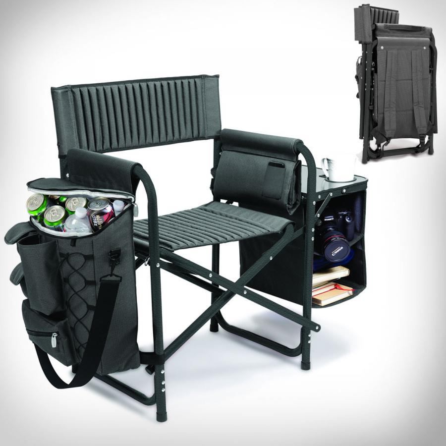 Great The Backpack Chair Is A Folding Chair That You Can Carry Like A Backpack,  And Once Unfolded Contains A Cooler To Store Your Beverages, And A Table  That ...