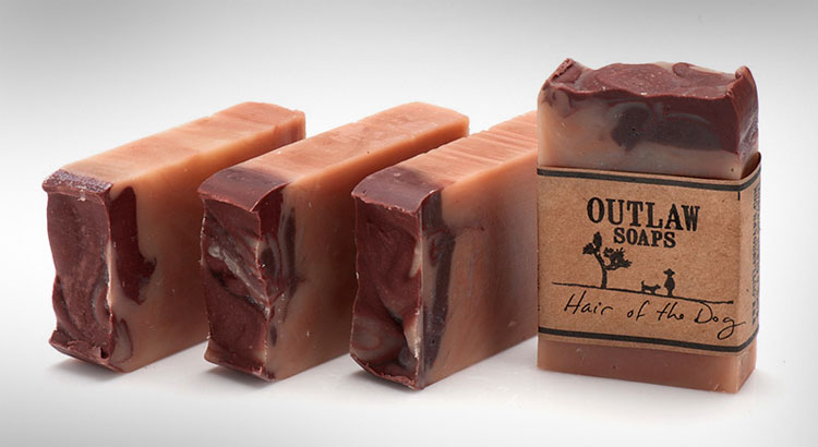 Bacon Whiskey Coffee Outlaw Soaps
