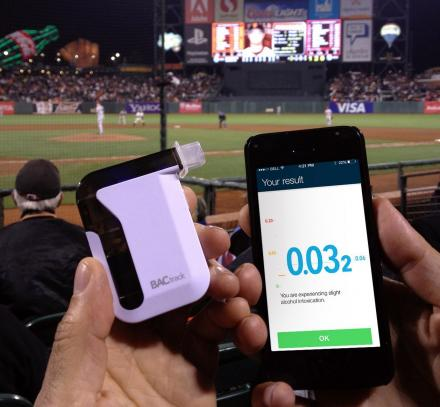 BACtrack Is a Bluetooth Smart Phone Breathalyzer