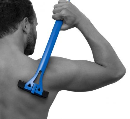 BaKBlade Is an Extra Long Shaver To Shave Your Own Back