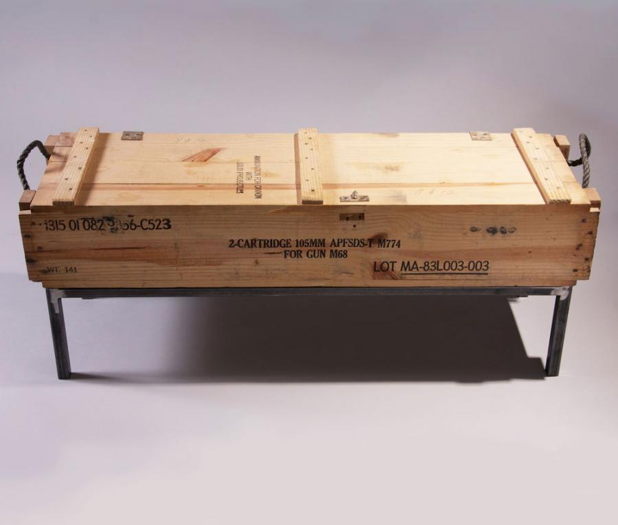 Wooden Crate Bench Diy