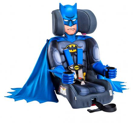 Batman Car Seat Lets Your Kid Become Batman While In The Car