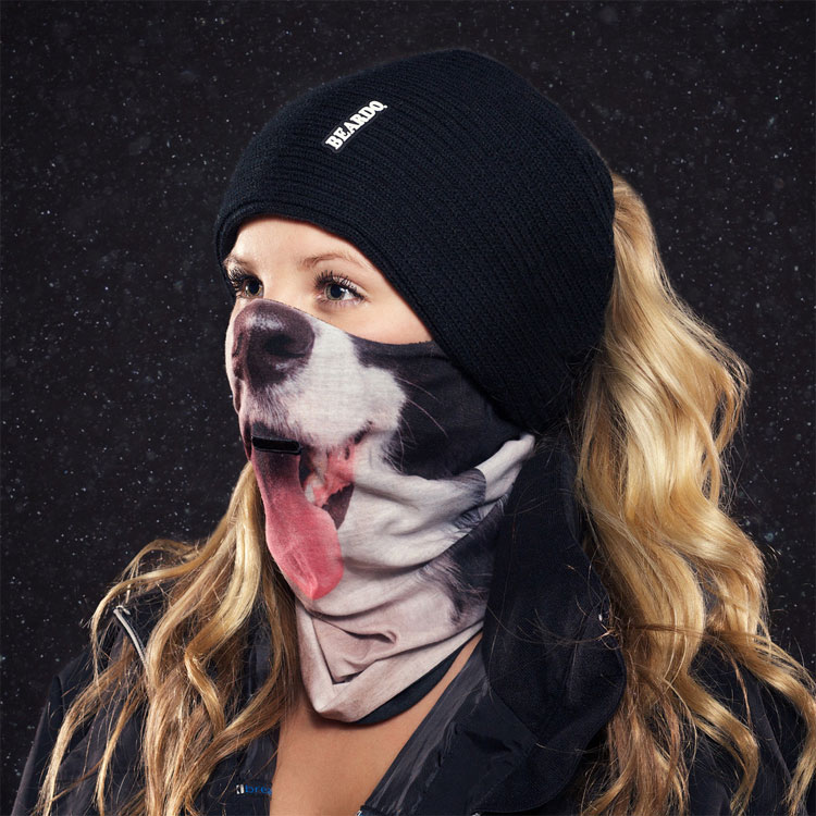 Beardo Ski Mask Dog
