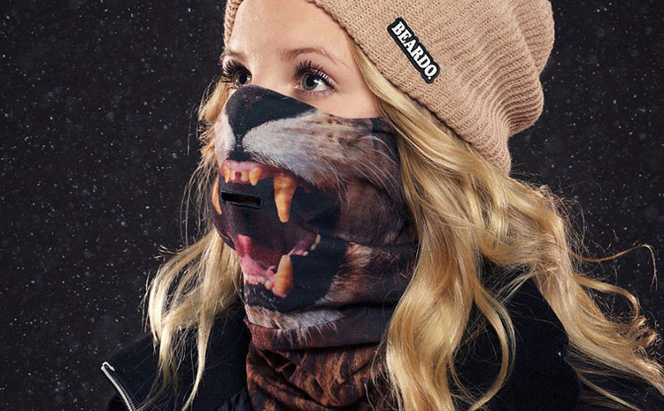 Beardo Ski Mask Lion