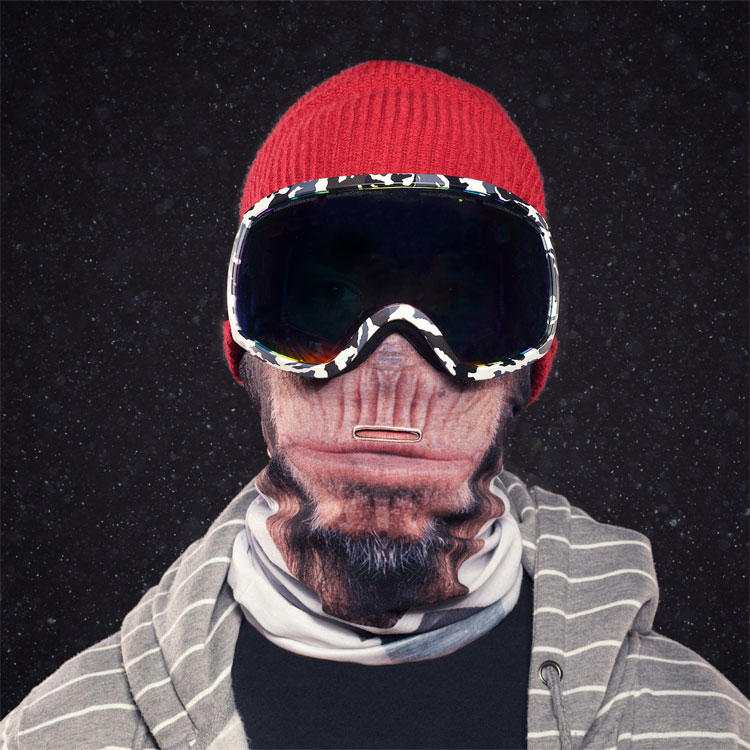 Beardo Ski Mask Monkey