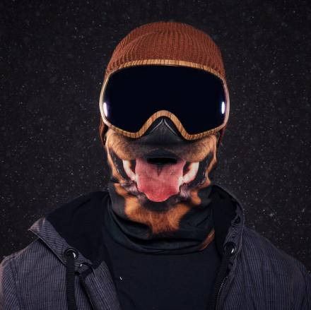 Beardo HD Printed Ski Masks