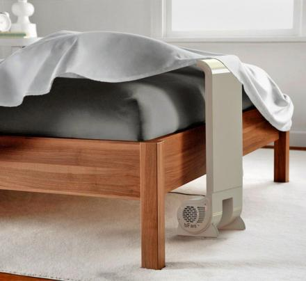 This Genius Bed Fan System Keeps You Nice and Cool Under Your Bed Sheets