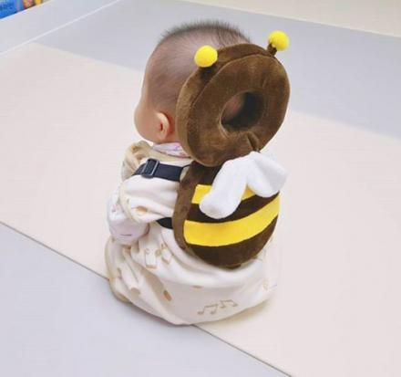 These Animal Shaped Baby Backpacks Protect Babies Heads If They Fall Over