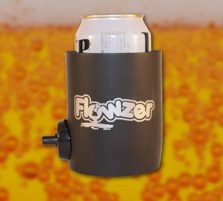 This Beer Koozie Has a Button To Optionally Shotgun Your Beer