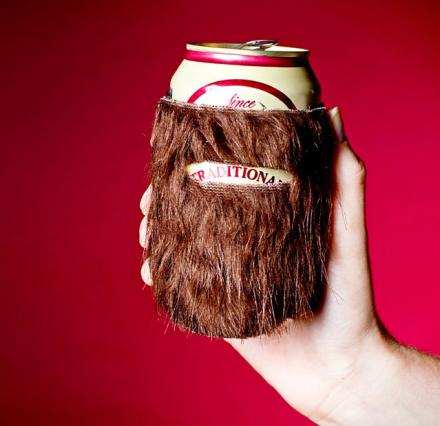 Beerd: A Koozie That Gives Your Beer a Beard
