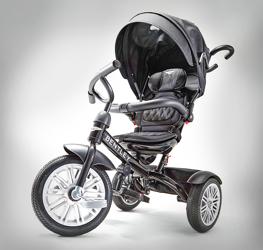 bentley 6 in 1 baby stroller and tricycle combo. Black Bedroom Furniture Sets. Home Design Ideas