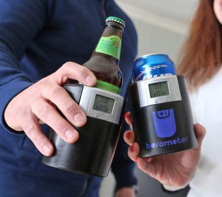 The Bevometer Is a Beer Koozie That Tracks How Many Beers You Drink