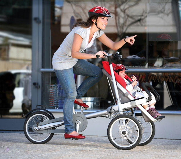 Bicycle Baby Stoller