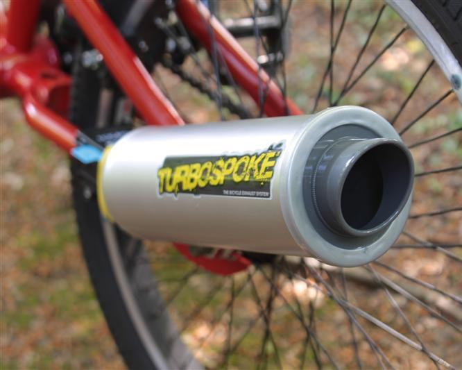 Bicycle Exhaust Noise Maker