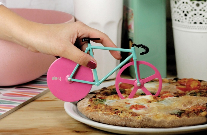 Fixie Bike Pizza Cutter - Bicycle pizza cutter