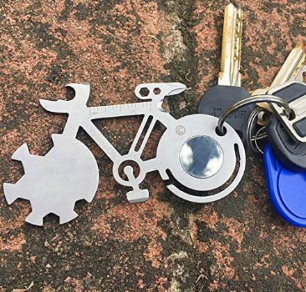Bicycle Shaped 10-in-1 Multi-Tool
