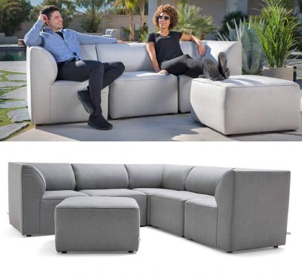 Big Joe Modular Outdoor Sectional Lets You Create Any Arrangement