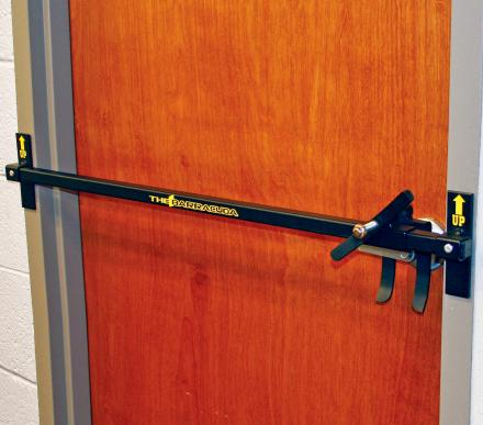 Bilco Intruder Defense System Lets You Lock Any Door During an Emergency
