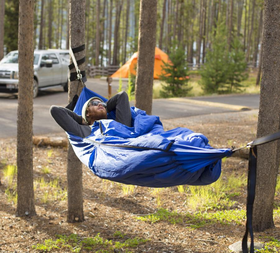 Image result for sleeping in a hammock