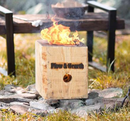 BlazingBlock: A Portable Bonfire Thats Simple To Start