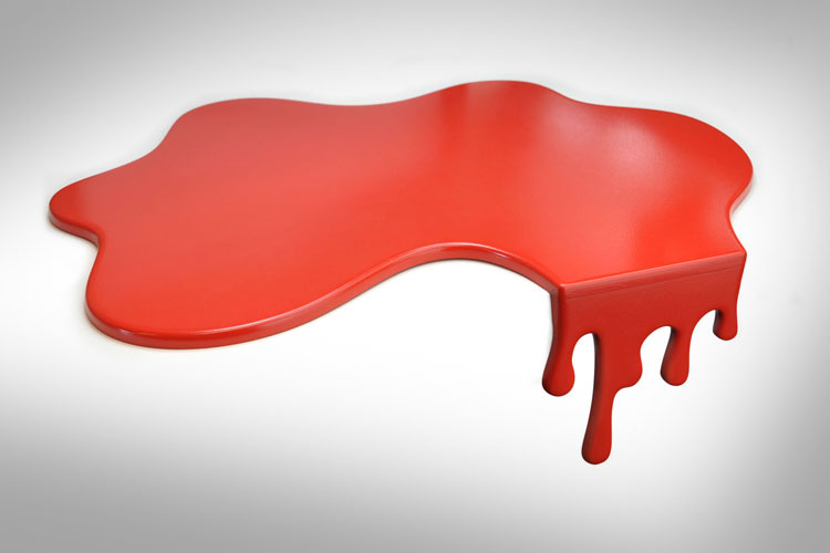 Blood Splatter Cutting Board