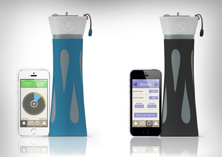 BlueFit Smart Water Bottle