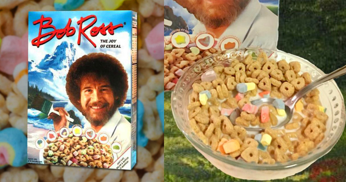 Bob Ross Cereal - The Joy Of Cereal