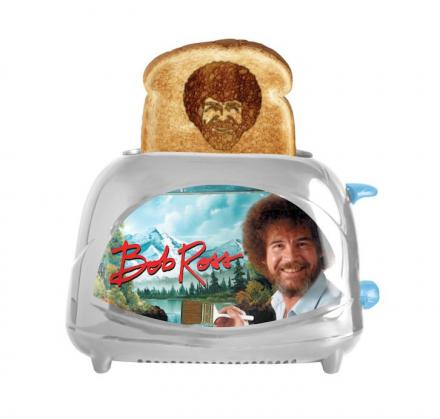 Bob Ross Toaster Toasts Bob Ross