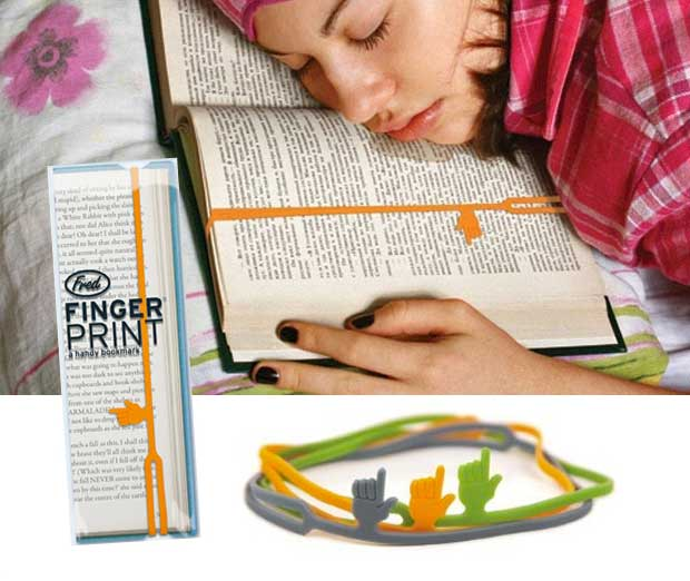 Bookmark With a Hand