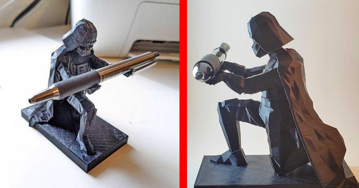 This Bowing Darth Vader Pen Holder Should Be On Every Star Wars Geeks Desk