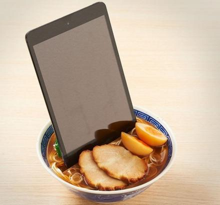 Bowl Of Ramen Noodles Phone and Tablet Dock