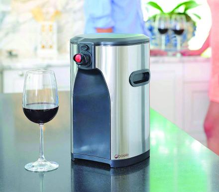Boxxle: Stainless Steel Classy Boxed Wine Dispenser