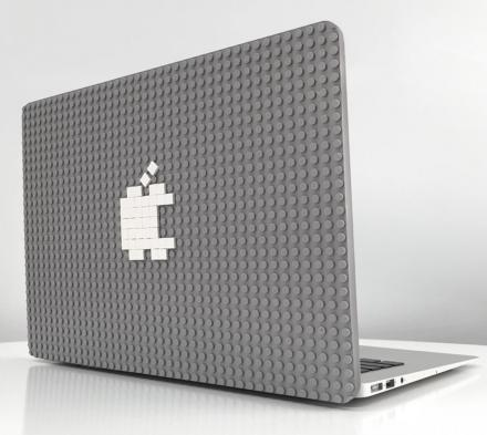 Brik Book Is a LEGO-Like Backing For Your Macbook