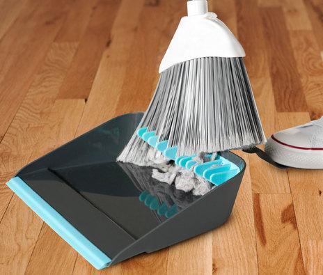 Broom Cleaning Dustpan