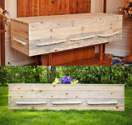You Can Now Get a DIY Casket Kit To Help Your Family Save Money When You Die