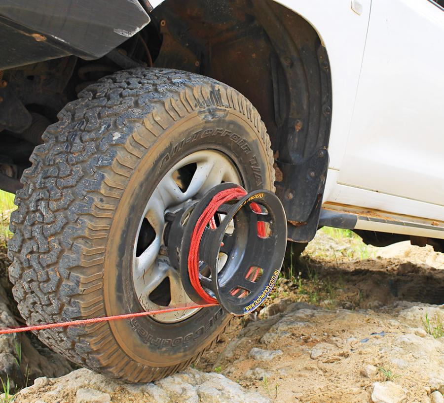 Tire Size Guide >> Bush Winch: Winch That Attaches To Your Tire, Gets You Unstuck