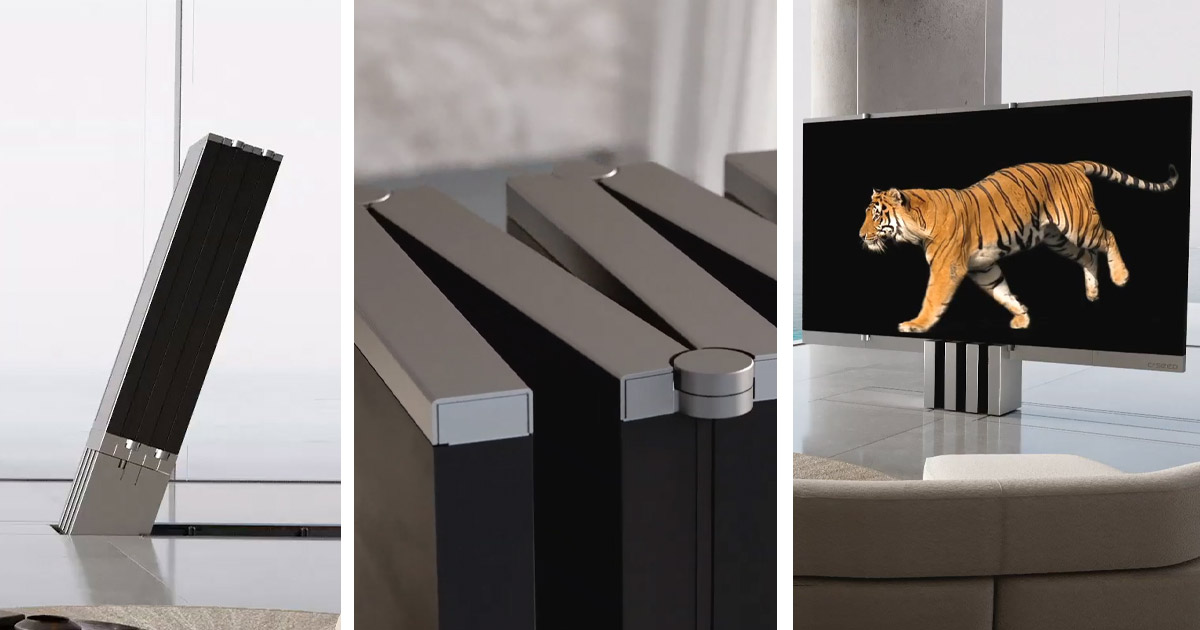 The C SEED Giant Folding Television Is The Ultimate Luxury TV