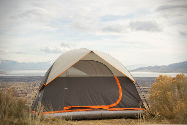 Camping Tent With Blow Up Mattress