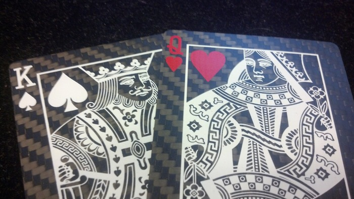 Carbon Fiber Deck Of Cards