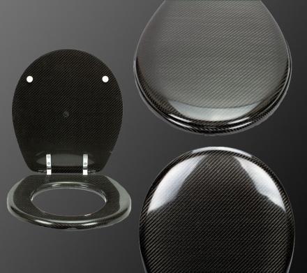 Carbon Fiber Toilet Seat.Carbon Fiber Toilet Seat