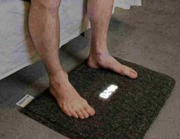 Carpet Rug Alarm Clock