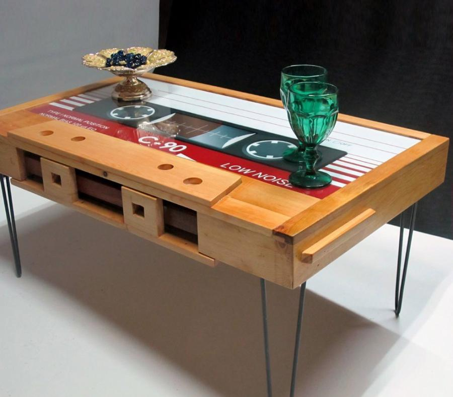 Cassette Tape Coffee Table