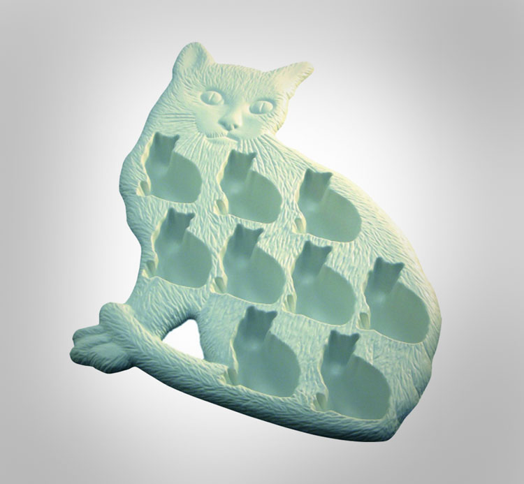 Cat Shaped Ice Cubes