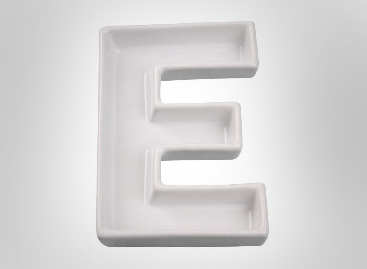 Ceramic Letter Dishes 2