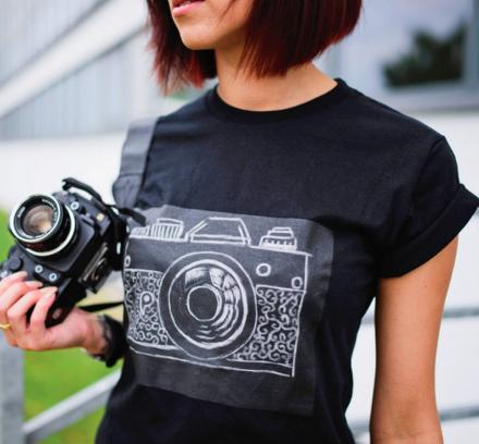 Challky Is a Chalkboard T-Shirt That You Can Draw On