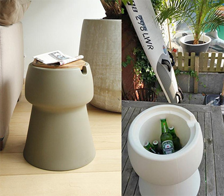 Champ Stool: A Chair That Doubles as a Cooler